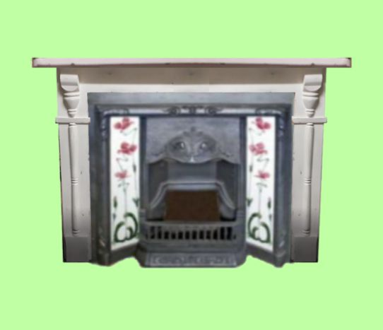 Shabby Chic Fire Surround Option 1